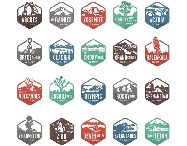 Featured Job #icon #logo #badge #park