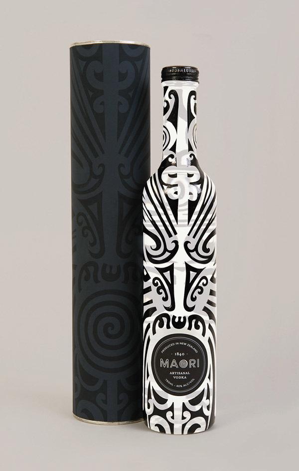 Maori Liquor packaging design #zealand #maori #packaging #design #tattoo #liquore #new
