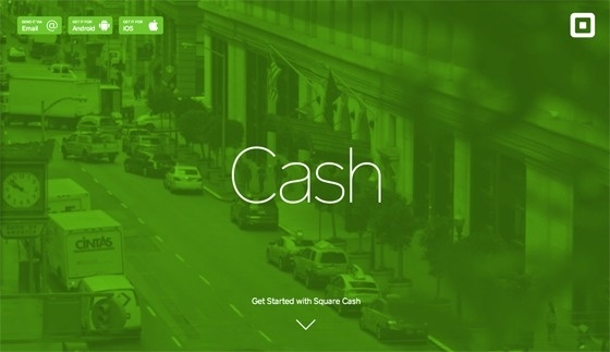 Square_cash_web_green #flat #square #design #ui