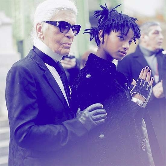 Willow Smith Is The Latest Face Of Chanel - How cool is that? #Chanel #WillowSmith