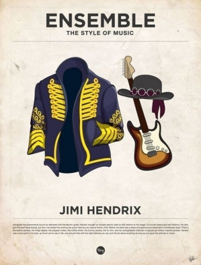 Marcus Russell Price #jimi #illustration #poster #music #hendrix #fashion