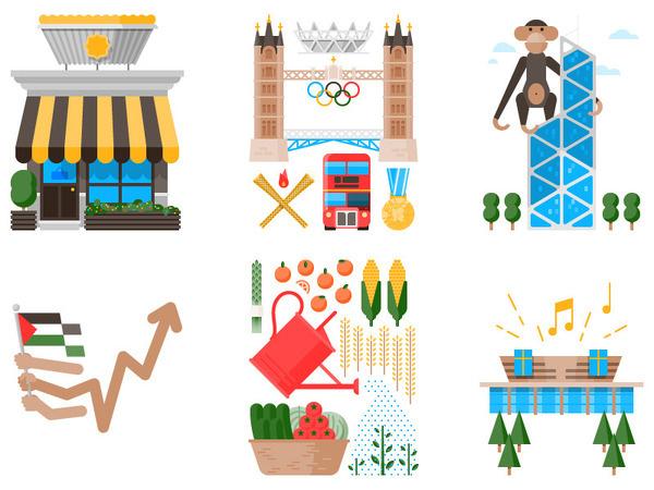 Tamer Koseli — Monocle 59 #icon #illustration #symbol #pictogram