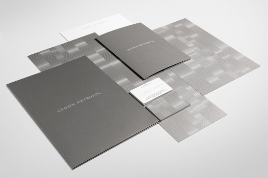 News/Recent - Fabio Ongarato Design | Crown Metropol #stationary