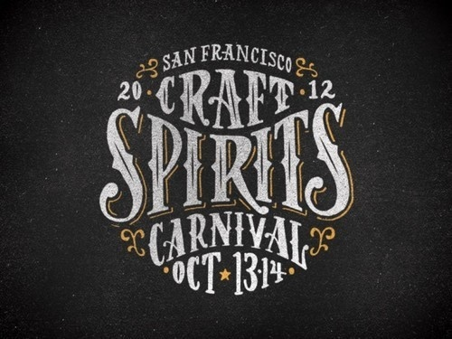 San Francisco Craft Spirits Carnival event logo by Firewater Partners #logo