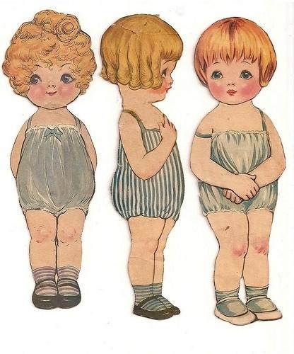coqueterías - littlewanders: sandysays: herekitty:(via... #illustration #vintage #dolls