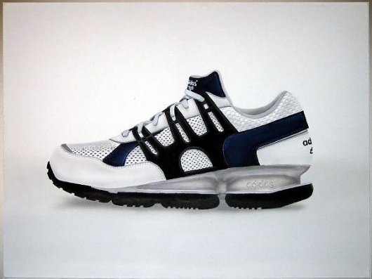 Christoph Machones Fotos - Auftragsarbeiten #copic #adidas #machone #acryl #sneaker #painting
