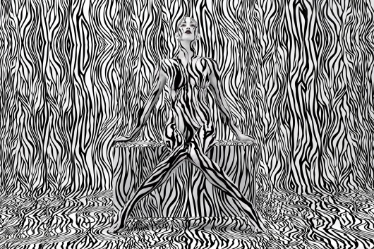 WANKEN - The Blog of Shelby White» Aizone SS11 Campaign + Body Painting #painting #aizone #body #art