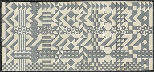 Ephemera once posted on bulletin boards in the Charles and Ray Eames | Monoscope #graphicdesign #pattern