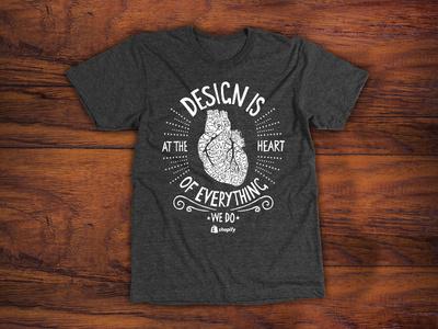 Shopify t shirt design.