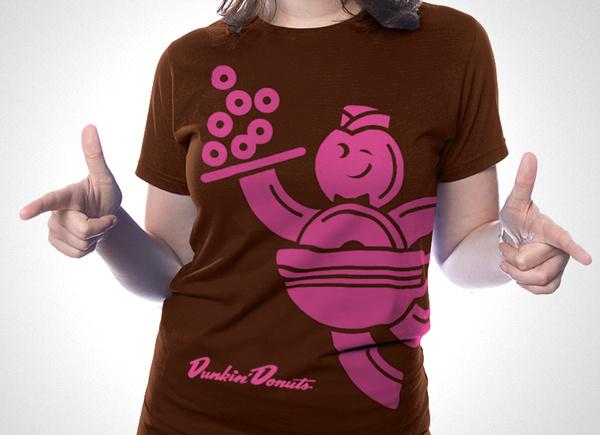 Work — the Design Office of Matt Stevens Direction + Design + Illustration #donuts #apparel #doughnuts #shirt #dunkin