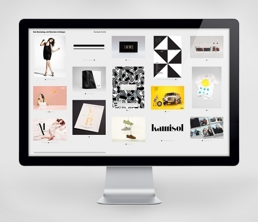Dan Bunnskog « Design Bureau – Lundgren+Lindqvist #website #grid #portfolio