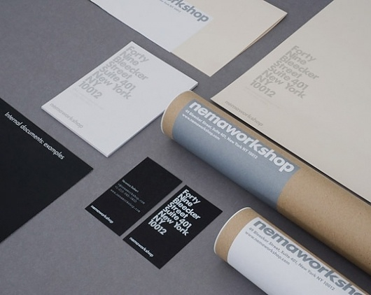 Nemaworkshop : Lovely Stationery . Curating the very best of stationery design #logo #brand #identity