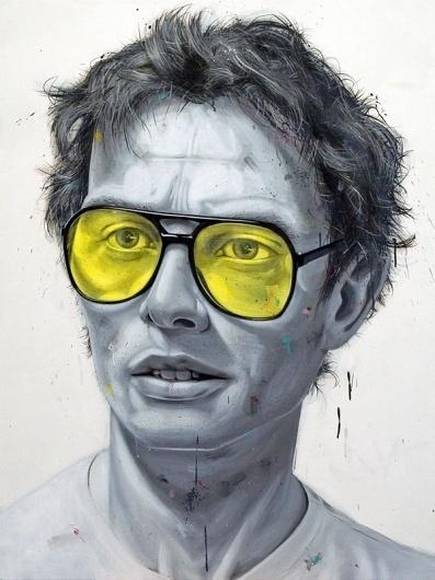 Blue Blocker : Robert Mearns #canada #robert #vancouver #illustrator #mearns #painting #artist #drawing