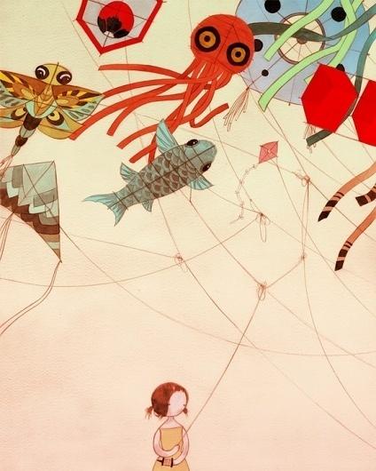 Tangled 16x20 Matte Color Print by stasiab on Etsy #burrington #stasia #illustration #kids #cartoon