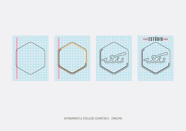 Identidade Visual para o Estúdio Vii on the Behance Network #logo