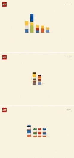 lego imagine #lego #advertising #minimal #clever #humor