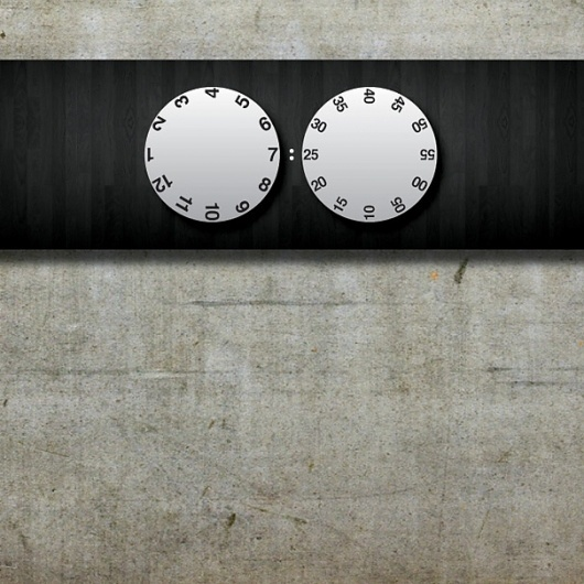 UnTime Clock Concept by Pushkar Ingale » Yanko Design #simple #clock