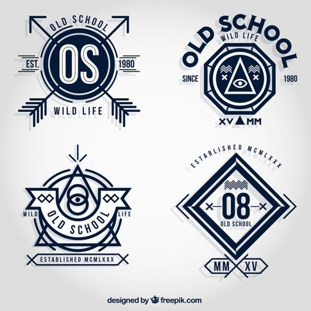 #badges #free #vector #arrows #old schol #wild life #wild #life