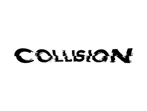 Collision #text #effects #collision #fx #typeface #experiment
