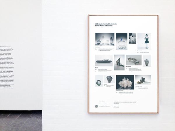 12 Graduates from KADK, Bornholm Daniel Siim #exhibition #design #graphic #poster