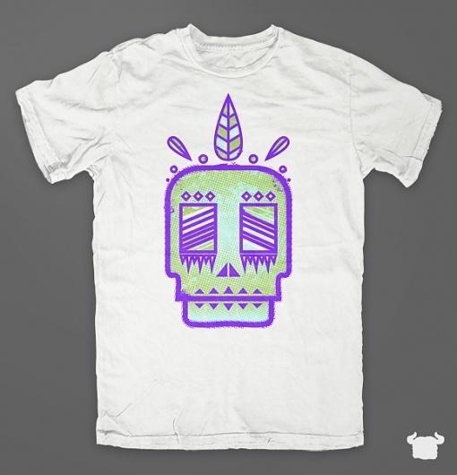 Newskull : Color Beast #apparel #design #shirt #tee #skull