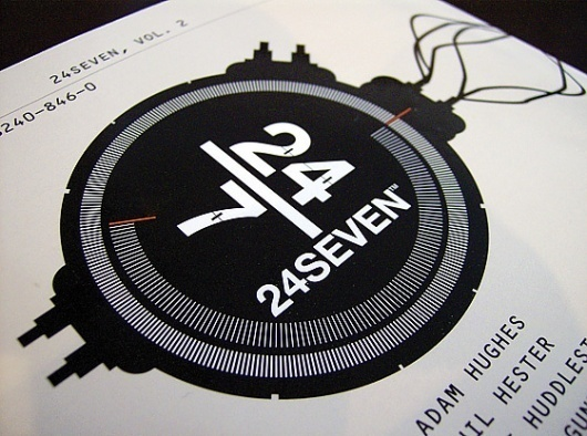 2007_24SEVEN-backcover.jpg 560×417 pixels #four #print #design #twenty #seven #type #typography