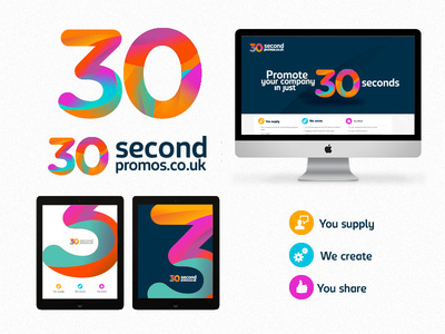 30SP branding deck #iconset #branding #icon #icons #texture #ui #identity #web #logo #colour