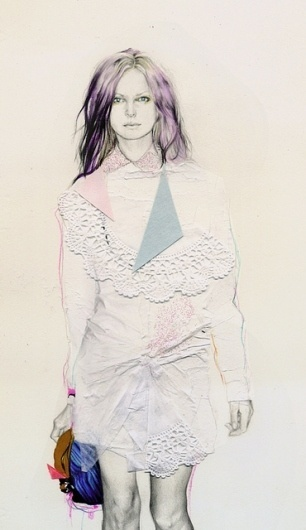Untitled | Flickr - Photo Sharing! #fashion #illustration #collage