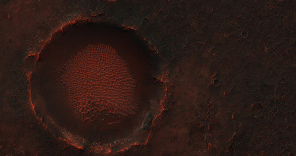 Alien frontier: see the haunting, beautiful weirdness of Mars | The Verge #red #planet #fi #sci #space #mars #photography #crater #weird #beauty