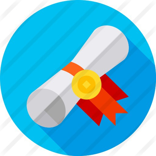 See more icon inspiration related to patent, degree, contract, certificate, education and diploma on Flaticon.