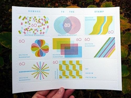 TinyShowcase Letterpress Print | Flickr - Photo Sharing! #stamps #letterpress