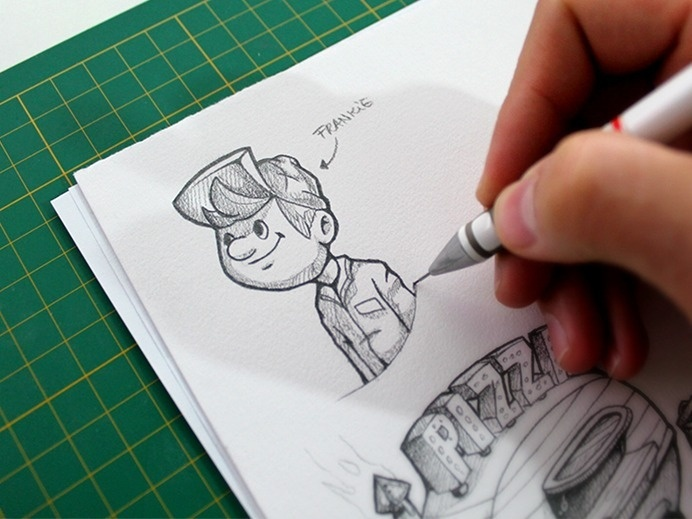 Character Sketch #drawing #sketch