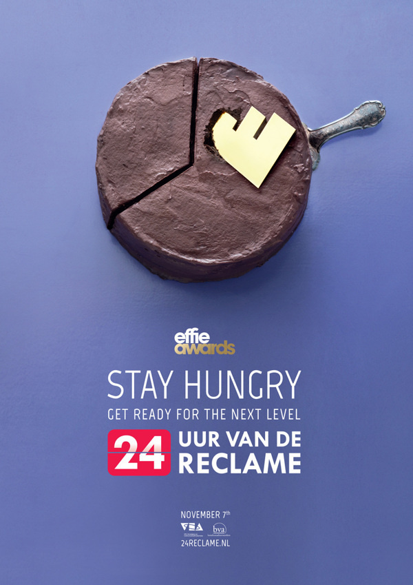 24 Hours of Advertising on Behance #24 #reclame #cakes #photo #food #stay #hungry