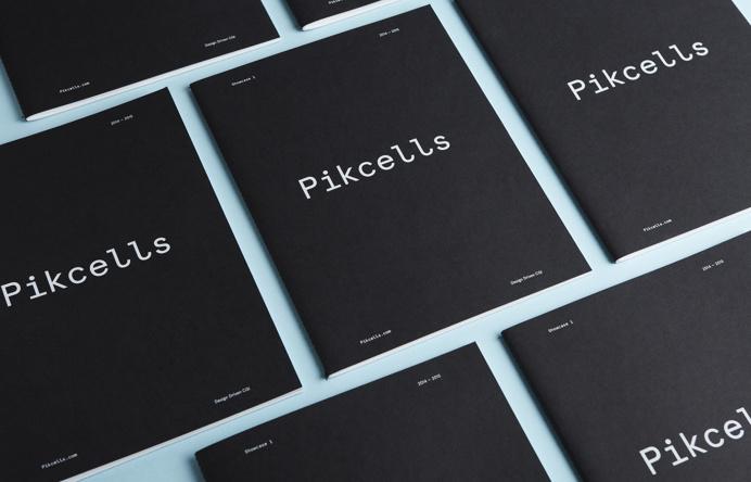 Pikcells branding by A.N.D. Studio