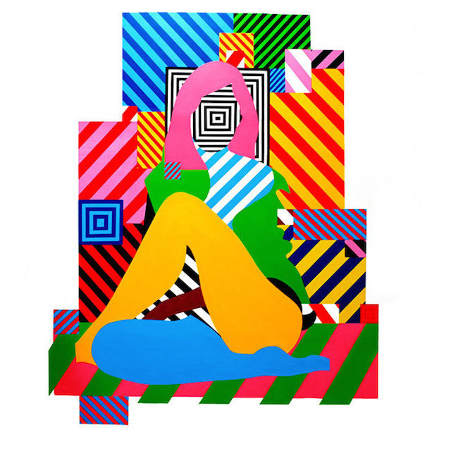 Colorful Street Art Installations by Maser-6 #installation #maser #art #street #colour