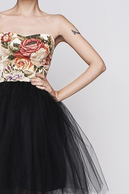 LETS DANCE 9 #fashion #dress #retro #roses