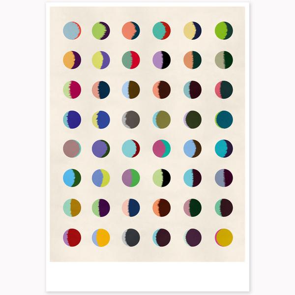 Image of One Month offset print #print #illustration