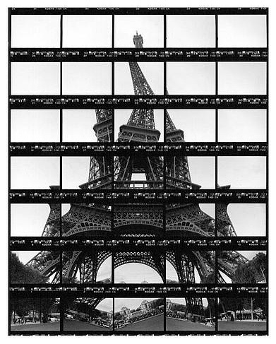 Thomas Kellner #paris #photo #collage #warped