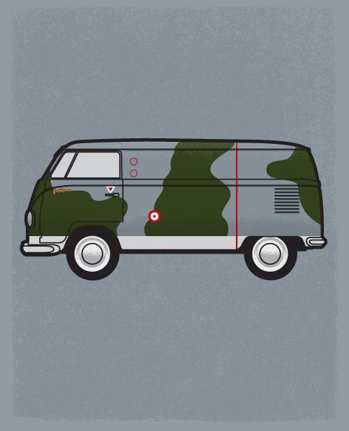 personal, illustration, vw, van fighter, camouflage #camouflage #van #fighter #illustration #vw #personal