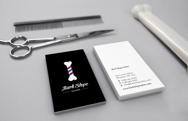 Bark Slope Salon Leta Sobierajski #typographic #logo #design #branding