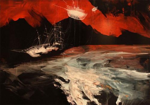 Artist painter Ian Francis #painting