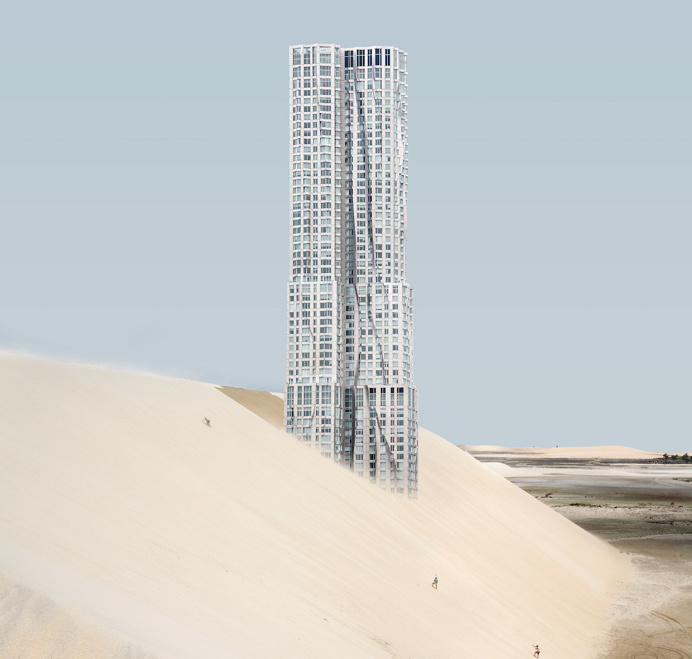 Misplaced NY's Famous Buildings by Anton Repponen