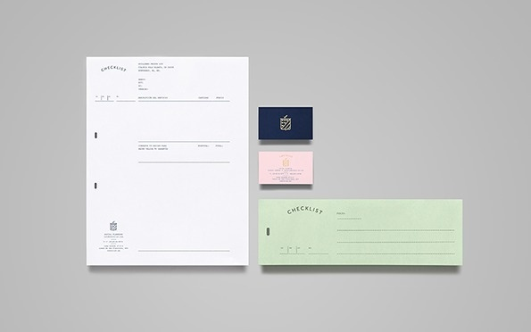 It's Nice That : Graphic Design: Anagrama give Checklist the Wes Anderson treatment #design #stationery