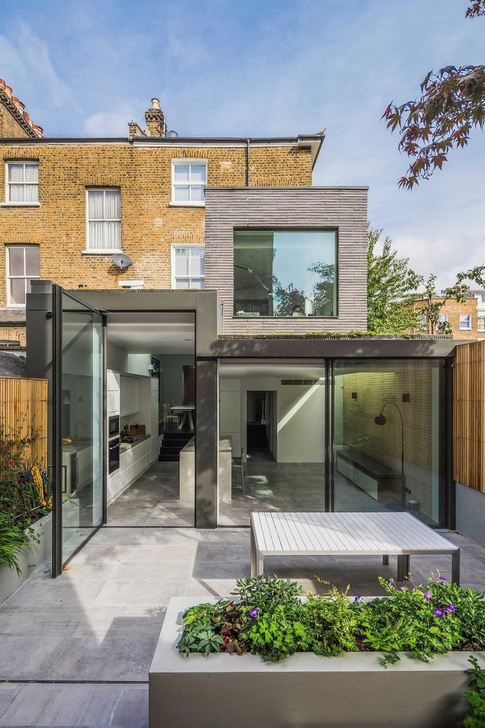 Petersen Brick House by Neil Dusheiko Architects