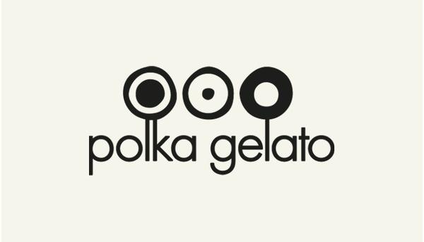 Vonsung #branding #vonsung #london #cream #gelato #identity #logo #ice #polka