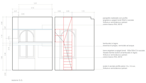 007 #elevations #drawings #interiors #architecture #stairs