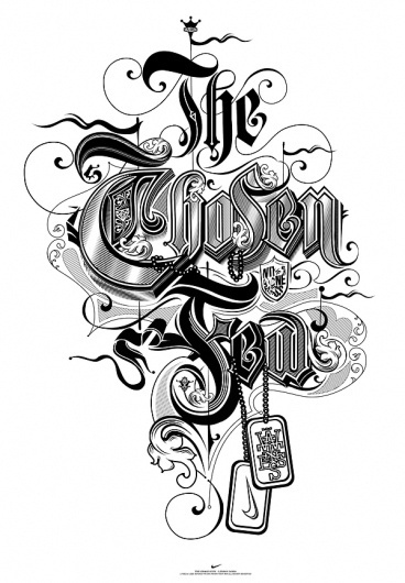 The Chosen Few on the Behance Network #illustration #studio #like #type #minded #typography