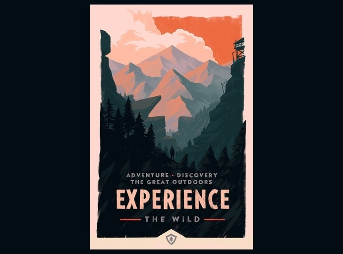 Campo Santo :: Experience • Protect • Defend #campo #mountain #landscape #gaming #firewatch #santo #olly #moss
