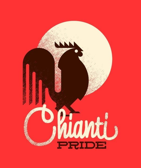 Chianti Pride Marco Goran Romano #illustration #vector