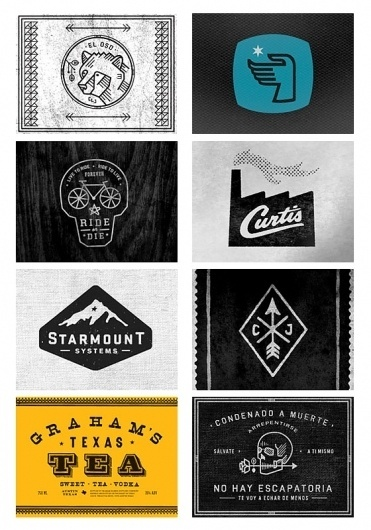 Neusblog® #jinkins #icons #curtis #distressed #vintage #logo